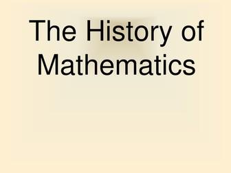 National 5 Mathematics History of Mathematics Presentation