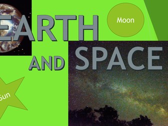 Earth and Space (Year 5)