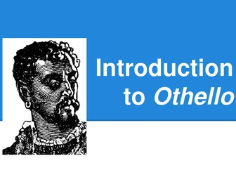 Shakespeare's Othello - Introductory PowerPoint