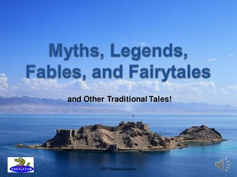 Myths, Legends, Fables, and Fairytales PowerPoint