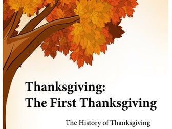 Thanksgiving: The First Thanksgiving