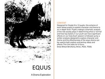 Drama Exploration - Equus