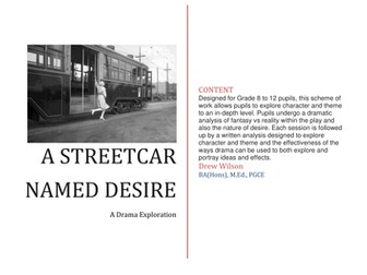 Drama Exploration - A Streetcar Named Desire