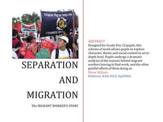 Drama Exploration - Separation and Migration