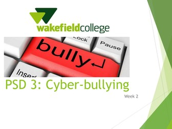 Cyber-bullying Resources