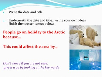 Tourism in the Arctic