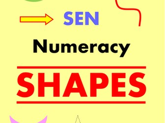SEN Numeracy - SHAPES