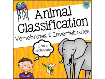 Animal Classification - Vertebrates and Invertebrates