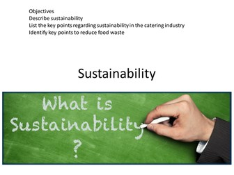 Sustainability in the hospitality and catering industry