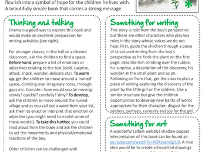 A Childu0027s Garden By Michael Foreman: Creative Ideas For Literacy And Art By  Articulate_education   Teaching Resources   Tes