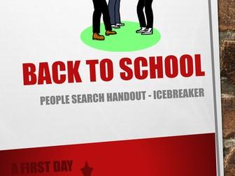 Ice Breaker Back to School