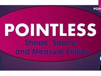 Pointless - Maths - Shape, Space, and Measure
