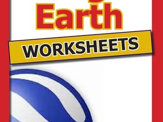 More Google Earth Worksheets