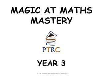 Year 3 Magic at Maths - Mastery Pack