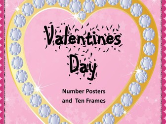 Valentines Day Number Posters