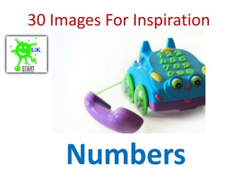 Images for Inspiration - Photographs of Numbers
