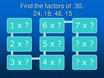 Quadratics: factorising made easy