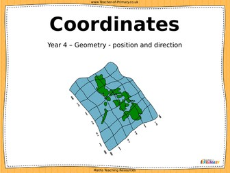 Geometry (position and direction) Teaching Pack - Year 4