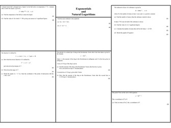 Core 3 - Exponentials and Logarithms Past Paper Questions