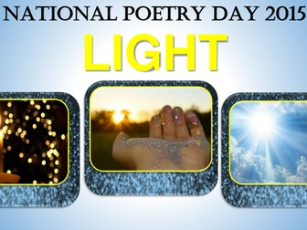 National Poetry Day - Theme Light