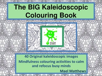 The Kaleidoscopic Colouring Book