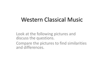 New AQA GCSE Music - AoS1 Western Classical Tradition Resources