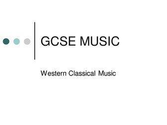 NEW AQA GCSE Music Western Tradition - Classical Period