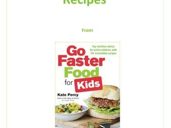 'Eat Like An Athlete' Recipe Booklet