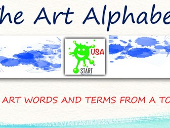 The Art Alphabet - Art Words and Terms from A to Z