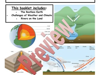 AQA A GCSE GEOGRAPHY REVISION BOOKLETS