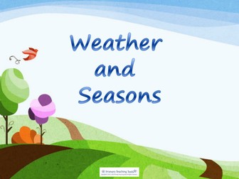 Y1 Science - Weather and seasons