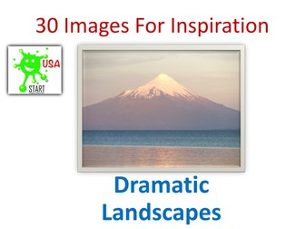 30 Images for Inspiration - Dramatic landscapes