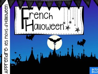 French Halloween Presentation (plus free video)