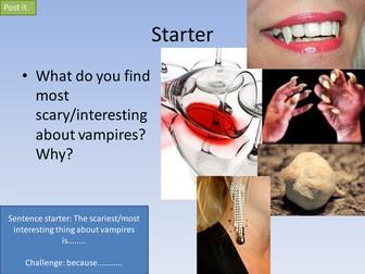 PEE- Dracula/Twilight.