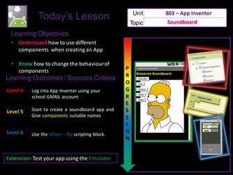 KS3 -Computer Science - App Inventor