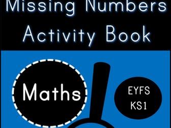 Missing Numbers Digit Detectives (EYFS/KS1)