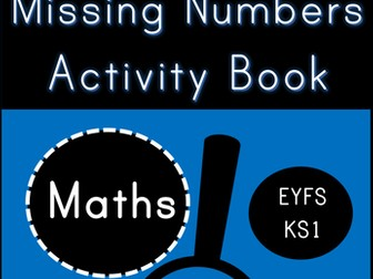 Missing Numbers Digit Detectives (EYFS/KS1)