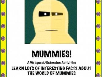 MUMMIES: A Webquest/Extension Activities