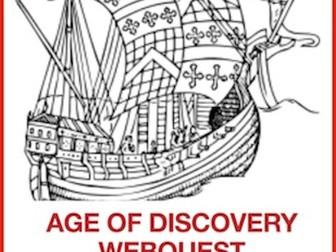 Age of Exploration: A Webquest/Extension Activities