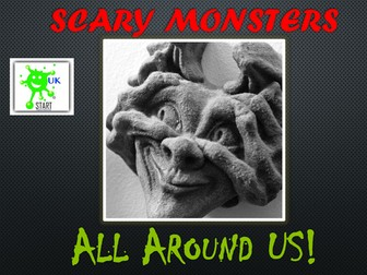 HALLOWEEN - Scary Monsters All Around Us!