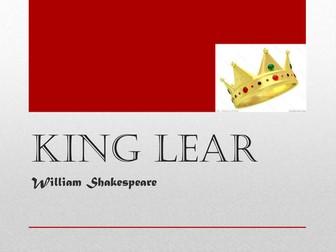 King Lear Teacher Resources