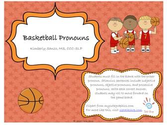 Basketball Pronouns