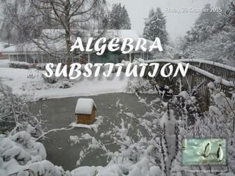 Algebra - Substitution Revision