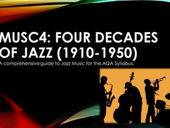 Four Decades of Jazz (1910-1950): A Comprehensive Guide