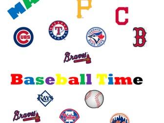 Fractions, Decimals, Percents Baseball