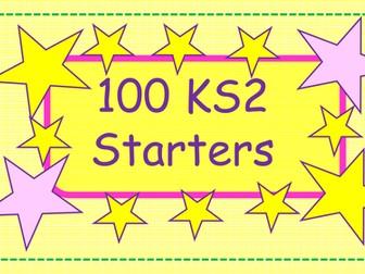 Over 100 KS2 New Curriculum Morning Starters
