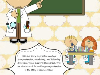 Science Language - Reading, Vocabulary, and Linguistic Concepts