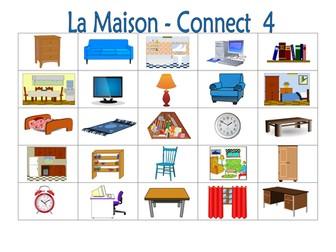 FRENCH ~ La Maison ~ Connect 4