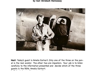 Amelia Earhart!  (A Reader's Theater Script)