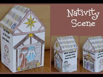 Christmas Crafts - Nativity Scene